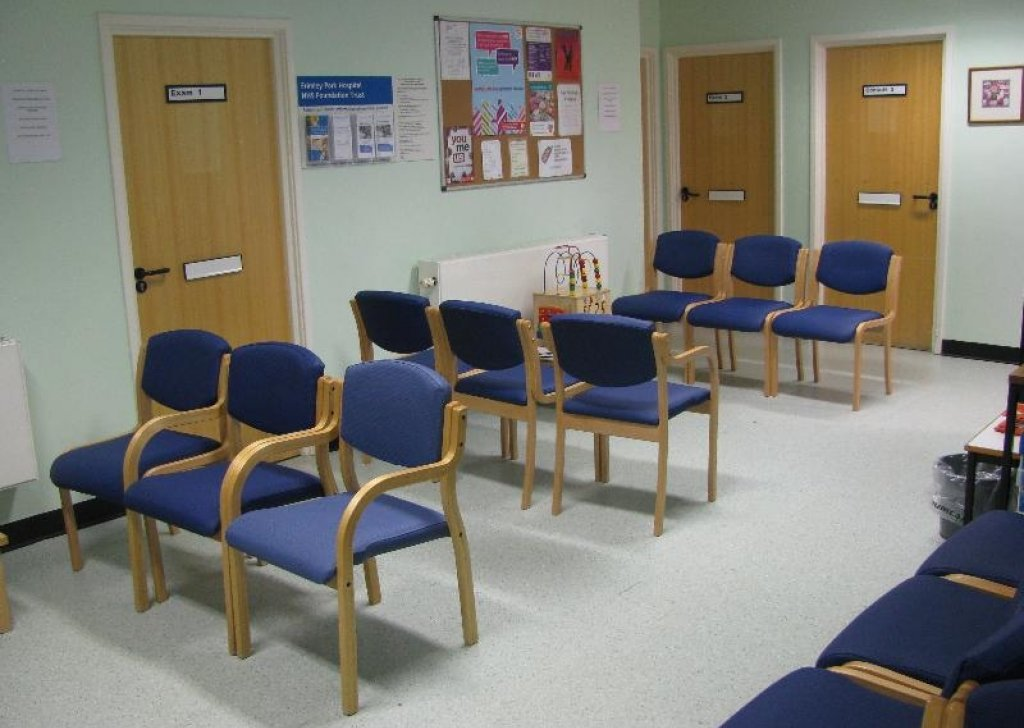 Image result for hospital waiting room